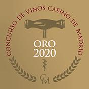Concurso Vinos Casino Madrid Medalla Oro