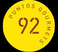 gourmet 92 puntos